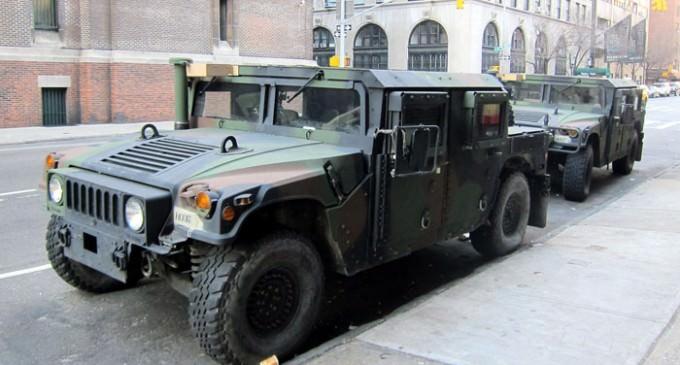 Ferguson Police Humvees Ordered Returned By DoD