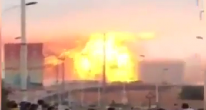 China Rocked By Yet Another Massive Chemical Plant Explosion