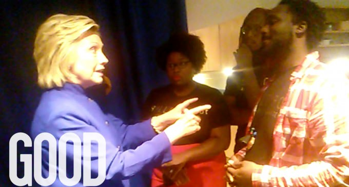 """""""Black Lives Matter"""" Accuse Hillary Of """"Victim Blaming"""" In Heated Exchange"""