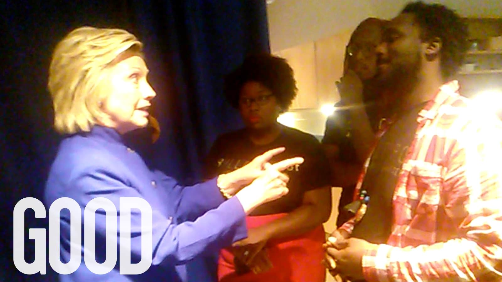 Black Lives Matter Accuse Hillary Of Victim Blaming In