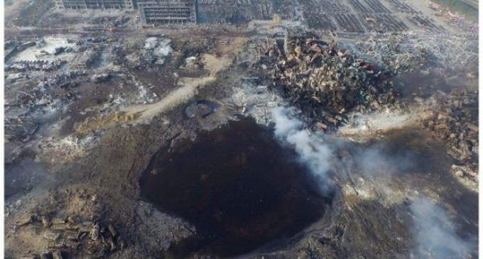 Report: China and America Are At War, Pentagon Space Weapon Caused Tianjin Explosion, Retaliation for Yuan Devaluation