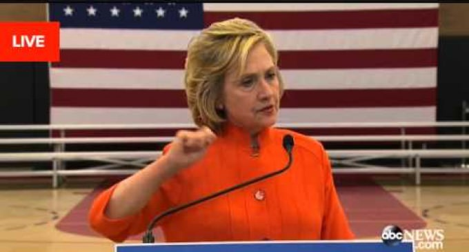 Clinton Refuses to Address Claims She Had Her Server Wiped