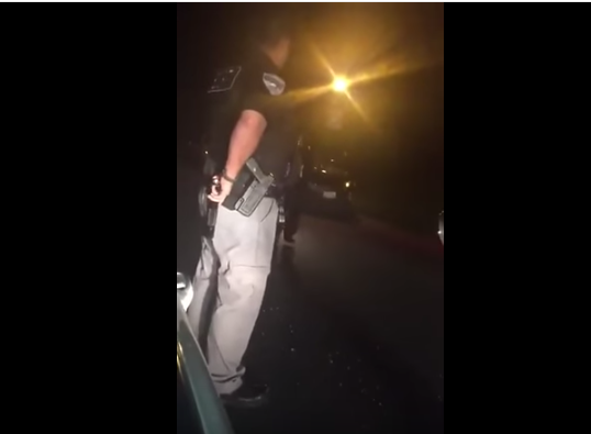 Patriotic Cop Upholds The Constitution