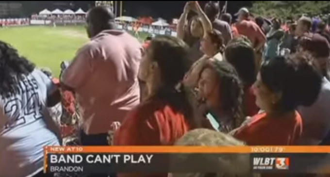 Obama Judge Bars High School Band From Playing Halftime Hymn, Audience Response is EPIC