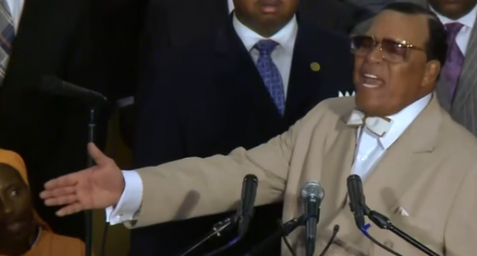 Farrakhan Calls For Army of 10,000 To 'Rise Up' and Die In Effort To 'Kill Those Who Kill Us'