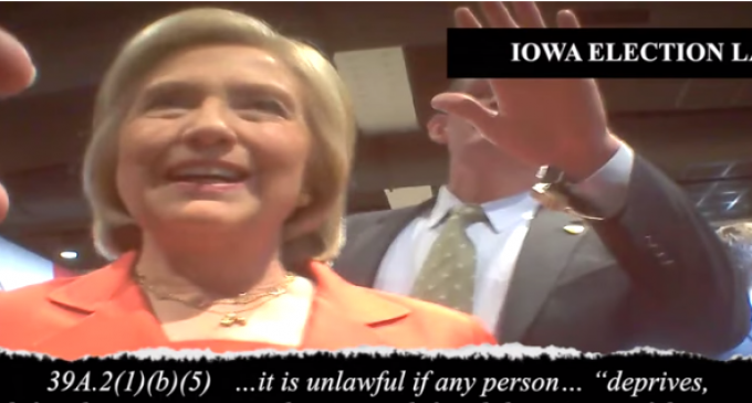 Undercover Sting Operation Releases Video Of Hillary Campaign Skirting Election Law