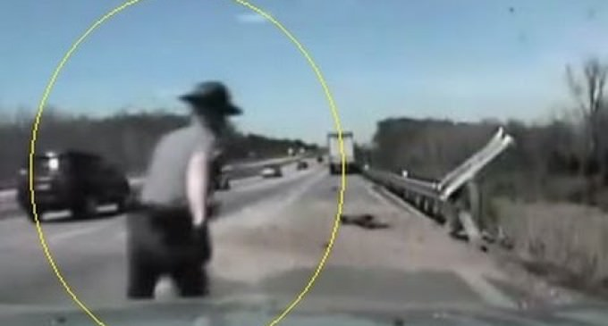 INTENSE 2 Minutes of Dashcam Audio Captures Ohio Trooper's Rescue of Driver