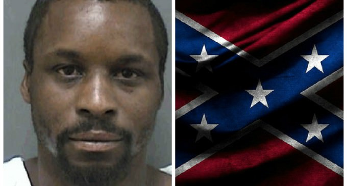 Man Breaks Into Woman's Home And Takes Confederate Flag, Assaulting Her In The Process