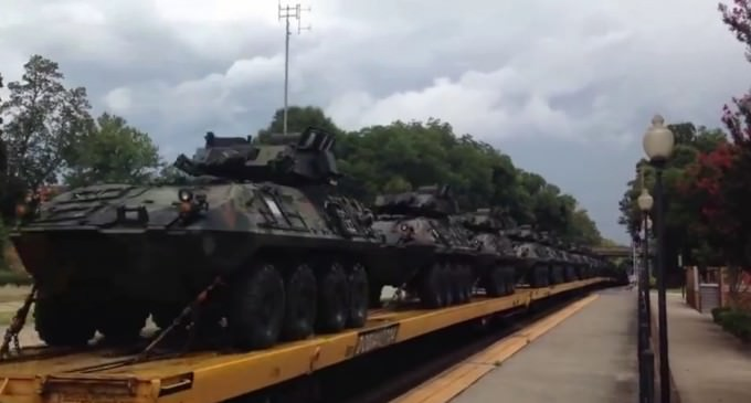 August Military Movement: Several Massive Military Transport Trains and Odd 'Mass Casualty' Bus Spotted