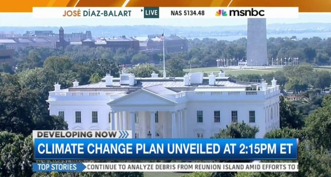 MSNBC Live: DC Summer Heat Must Be Climate Change