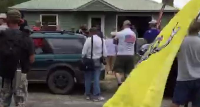 Patriots Guard Home Of Veteran To Stop VA From Confiscating His Guns
