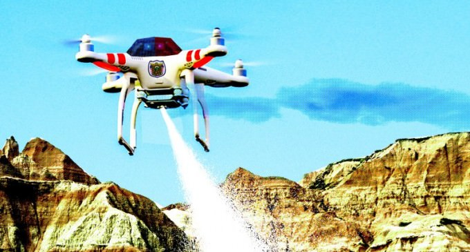 North Dakota Becomes First US State To Legalize TASER DRONES For Police