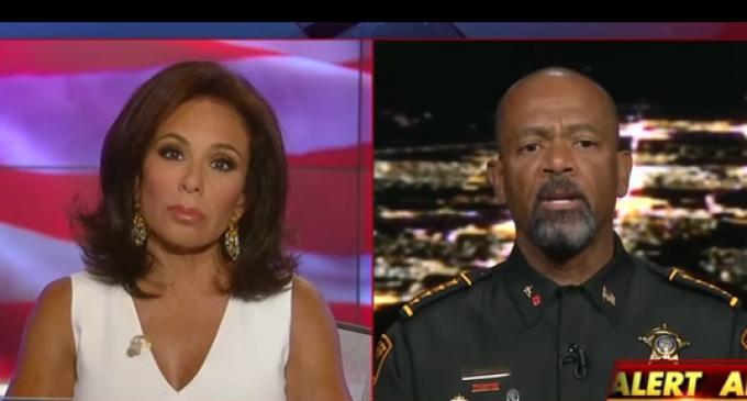 Sheriff Clarke Calls Out Obama As Having Created 'Open Season' On Police