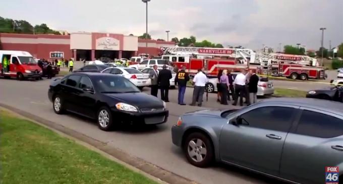 Hatchet and Gun Weilding Suspect Dead At Tennessee Movie Theater Attack