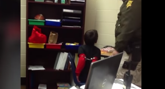 Cops Handcuff Disabled 3rd Grader As He Screams in Pain