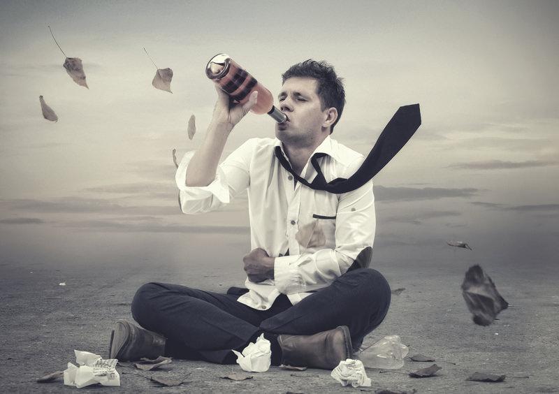 Los pendientes del alcoholismo