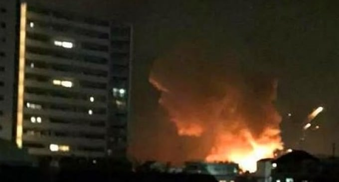 VIDEO: Massive Explosion at US Military Base in Japan