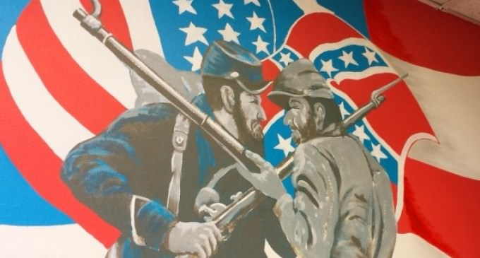 Colorado V.A. Tells Veteran To Paint Over Confederate Flag on American War Mural