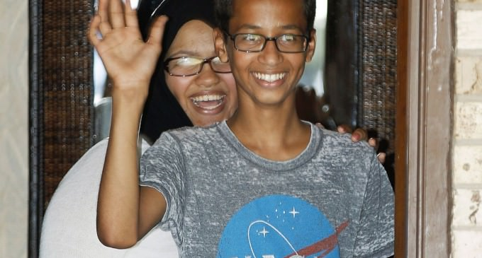 Sister of Muslim Clock Bomb Kid Once Suspended For Threatening to Blow Up School