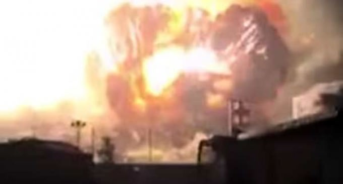 A Fourth Major Factory Explosion in China