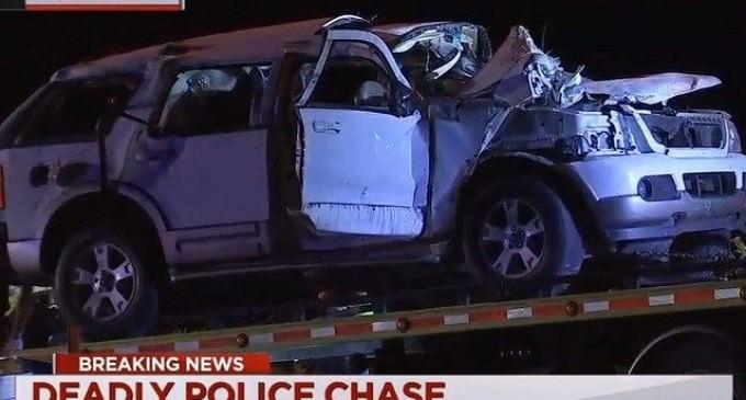 High Speed Van Crash with 15 Illegal Aliens Kills Six