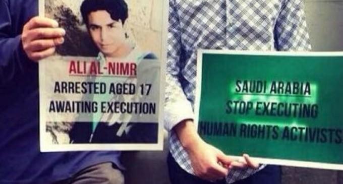 Saudi Boy Gets Crucifixion for Railing Against Kingdom