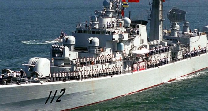 Chinese Navy and Russian Army Defending Syria against ISIS and…the U.S.?