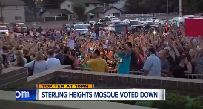 City Bans a Massive Mosque…with Full Crowd Approval