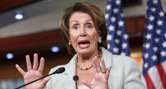 """""""Toxic"""" Pelosi Under Fire by Dems, """"Mockingly Lauded"""" By GOP Leaders"""