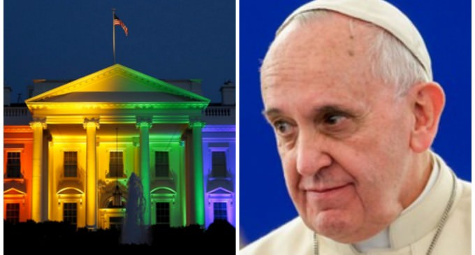 Obama Will Shove Anti-Catholic, LGBT Rogues In Front Of The Pope