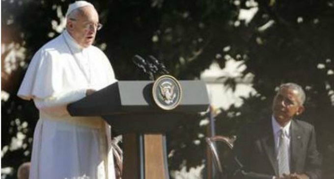 Obama Lies to the Pope
