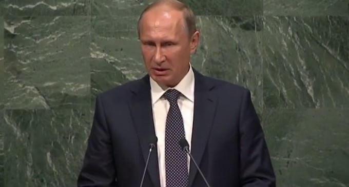 Putin Calls Out Obama at UN: Do You Realize What You Have Done?
