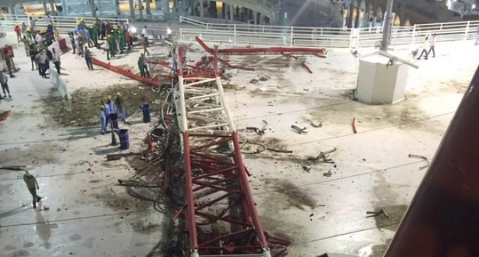Mecca Holy Site Accident Causes 107 Dead; Crane And Strong Winds To Blame