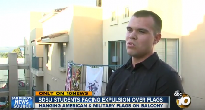 San Diego State May Expel Students Over U.S. Flag