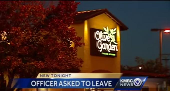 Olive Garden Denies Service to Uniformed Officer