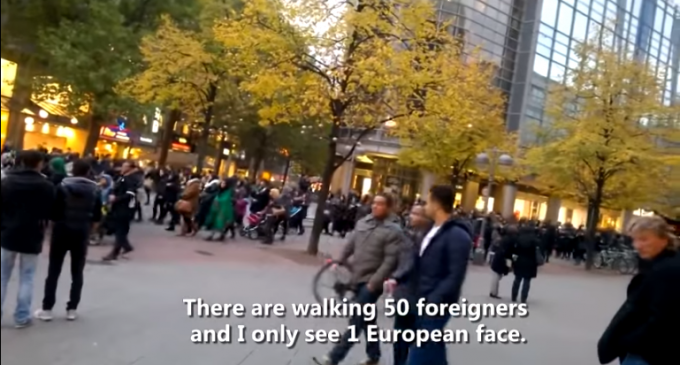 Germans Panic as Most People on the Street are Muslim
