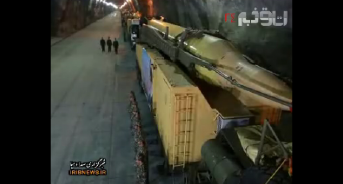 Iran Proudly Displays Secret Missile Base