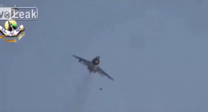 ISIS Machine Guns vs Russian Fighter Jet…Take a Guess.