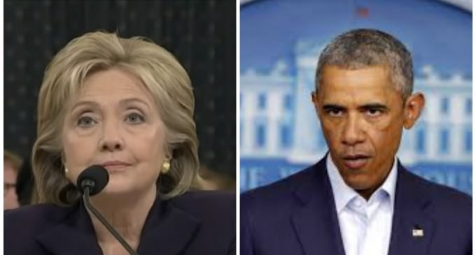 18 Hillary/Obama Email Correspondence Withheld From Public Release