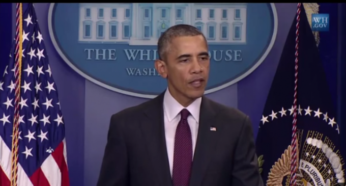 Obama Mentions Himself 28 Times In Oregon Shooting Press Conference