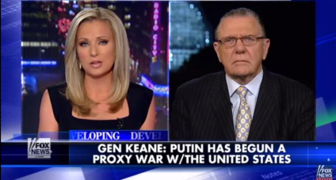 US General Warns of Russian Proxy War