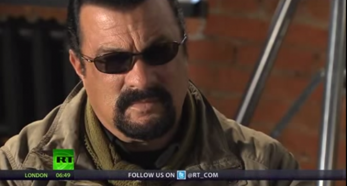 Steven Seagal: Mass Shootings Are Engineered