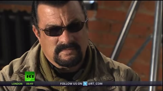 Steven Seagal: Mass Shootings Are Engineered - Truth And Action