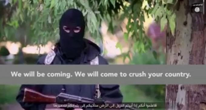 """ISIS Tells France """"We Will Be Coming… To Crush Your Country"""" In Chilling Video"""