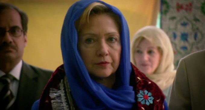 Hillary: If We Love, Hug and Eat With the Terrorists, They'll Stop Murdering Us