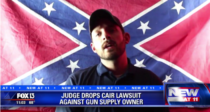 Judge Tosses Out Lawsuit Attempting to Stop Gun Shop Owner's 'Muslim Free Zone'