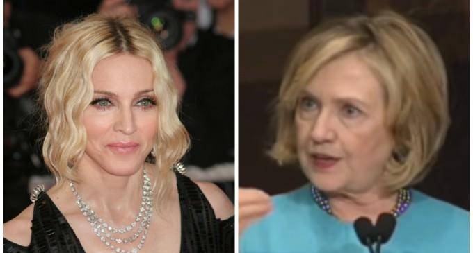 Madonna and Hillary: Terrorists Just Need Love and Hugs
