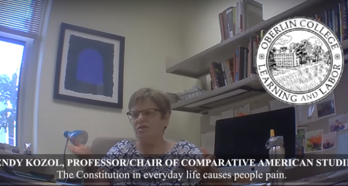 College Administrators Agree To Shred Constitution Because It's 'Triggering' and 'Offensive'