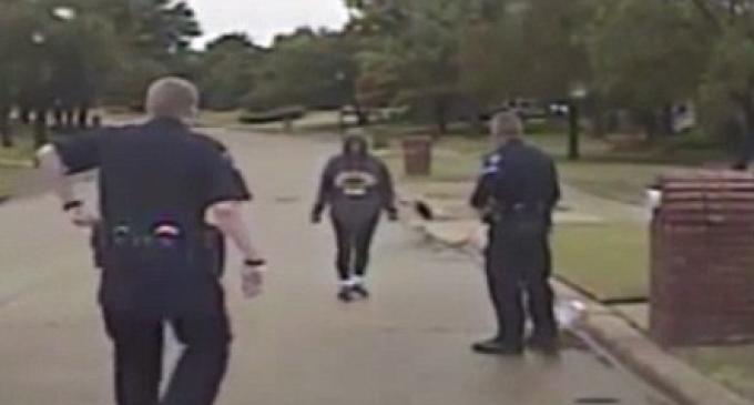 Texas Univ. Dean Claims Racial Profiling 'Walking While Black', Discredited by Dashcam