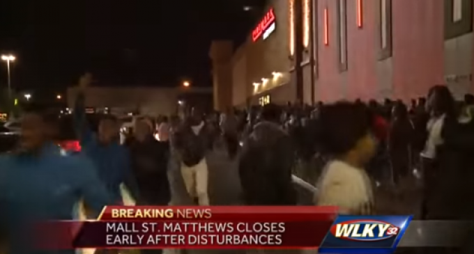 2000 Juvenile Delinquents Close Down Kentucky Mall